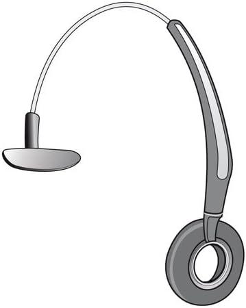 2 Jabra Leatherette Ear Cushion for GN Netcom GN9330e GN9350e Headset headbands