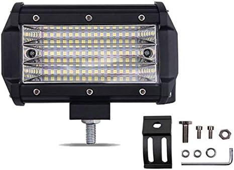 Semoic 1Pcs Led Work Light Bar 135W 5 Pulgada 6000K Spotlight para Coche 4X4 Offroad Luz de Trabajo para Tractor Moto Barco 12V Faros Antiniebla