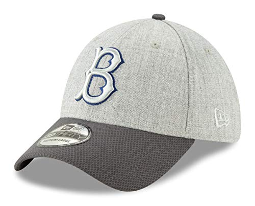 New Era Brooklyn Dodgers 39THIRTY Cooperstown Change Up Redux Gray Hat