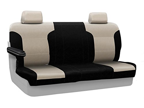 CoverKing Custom Fit Center Solid Bench Seat Cover for Se...