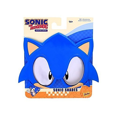 [Sunstaches Officially Licensed Sega Sonic The Hedgehog] (Hedgehog Costumes For Kids)