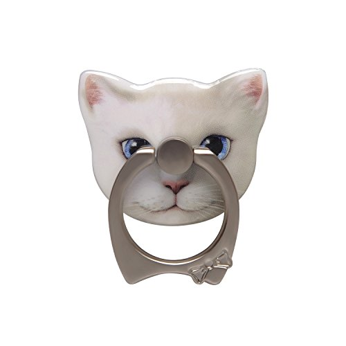 (EIN Car Bracket Cat Shape Cell Phone Stand/Ring and Grip for Smartphones and Tablets (styleA2))