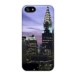 Quality Mialisabblake Case Cover With Midtown Skyline New York City Nice Appearance Compatible With Iphone 5/5s