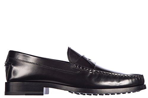 tods-mens-leather-loafers-moccasins-fondo-leather-black-us-size-12-xxm0vd00010aktb999