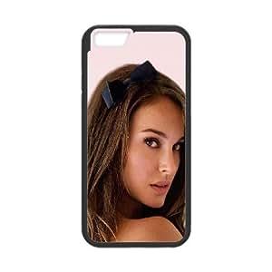 iPhone 6 4.7 Inch Cell Phone Case Black Natalie Portman Film Face JNR2995496