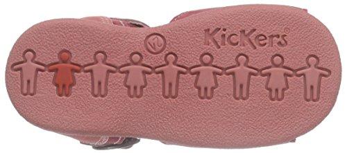 Kickers Babygirl - Sandalias Bebé-Niños Rojo - Rot (43)