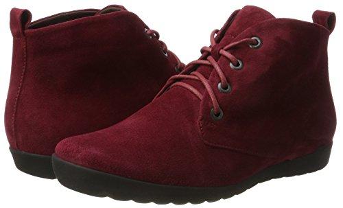 Anni 73 cranberry Boots Think Desert Rouge Femme vwBxqfT