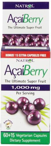 Natrol AcaiBerry 000mg Vegetarian Capsules