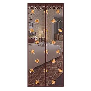 Zanzariera magnetica per porta – Magneti forti, tenda in fibra di vetro – Full Frame magneti con self-sial facile da… 10 spesavip