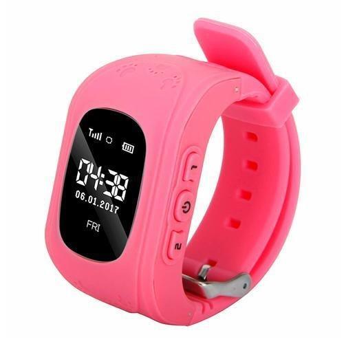 Reloj Kids Y Para Niñas Rosa Color Gps Q50 Smartwatch Tracker Niños 08vwmNnO
