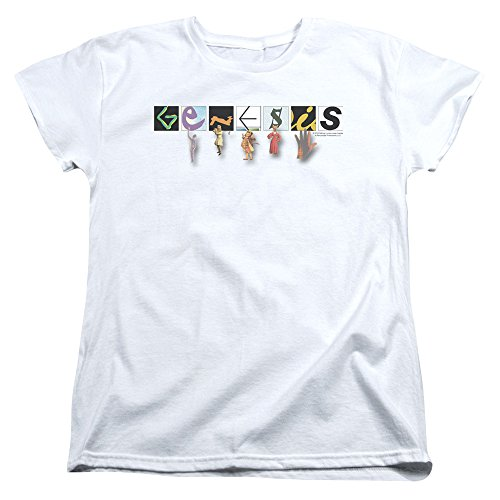 Blanc T Femme shirt T Genesis shirt Genesis Femme T Genesis shirt Femme Blanc 4A7aqB