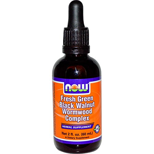 (Now Foods Fresh Green Black Walnut Wormwood Complex - 2 oz. (pack of 3))