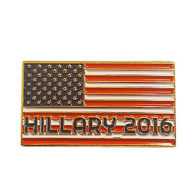 - 3 Pack - Hillary Clinton Lapel Pin