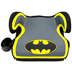 Your child will love hopping into the car knowing that Gotham City's hero is along for the ride! The KidsEmbrace DC Comics Batman Backless Booster Car Seat has been rigorously tested and exceeds Federal Motor Vehicle Safety Standard (FMVSS 21...