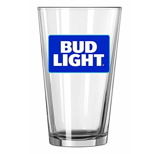 Bud Light Pint Glass ()