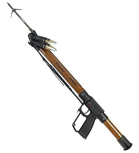 AB Biller Wood Mahogany Special Spear Gun Spearfishing Kit, 24