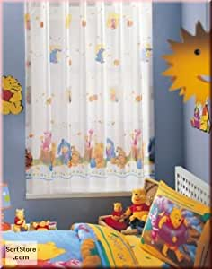 Winnie The Pooh Curtain Home Kitchen