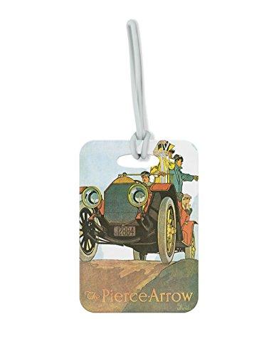 The Pierce Arrow Vintage Auto Poster #4 Luggage Tag Finder Brief - Bf Pierce