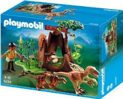 Playmobil 5233 Deinonychus and Velociraptors
