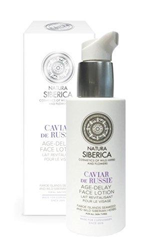 Natura Siberica Loción Facial Anti-Age, Caviar de Rusia - 200 ml