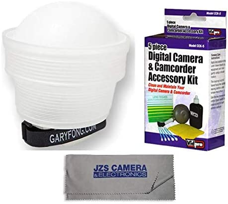 with Camera Cleaning Set Generation 5 Gary Fong Lightsphere Collapsible with Speed Mount