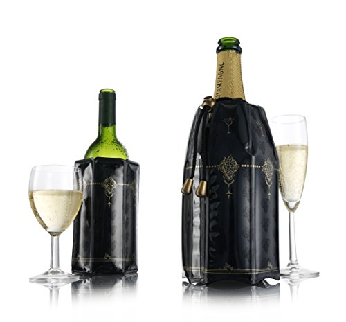 - Vacu Vin Active Cooler Wine & Champagne Gift Set, Classic