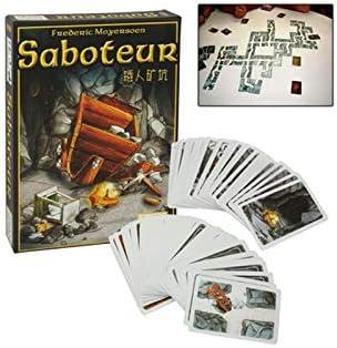 Desconocido Jeu de Cartes Saboteur: Amazon.es: Juguetes y juegos