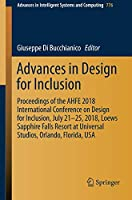 Advances in Design for Inclusion Front Cover