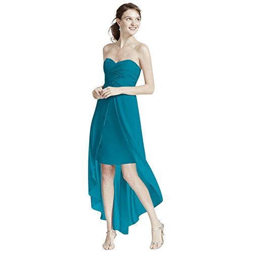 oasis color bridesmaid dresses - 6