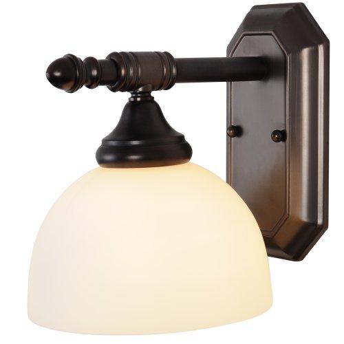 Amazon Bathroom Light Fixtures: Monument 617088 Decorative Oil Rubbed Bronze Vanity