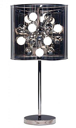 Starburst Table Lamp in Steel Model-3260-22 (Steel Starburst Starburst 22)