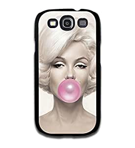 Tomhousomick Custom Design Women's Fashion Cases Sexy Star Marilyn Monroe Style Case for Samsung Galaxy S3 Back Cover #83