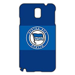 Personal Design FC Hertha BSC Theme Football Club Phone Case Cover For Samsung Galaxy Note 3 3D Plastic Phone Case
