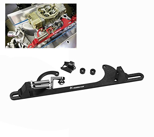 Bracket Accelerator - Ryanstar Throttle Cable Bracket 4150 4160 Series throttle brackets Billet Aluminum Black