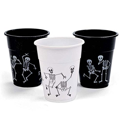 Halloween Skeleton Printed Disposable Cups