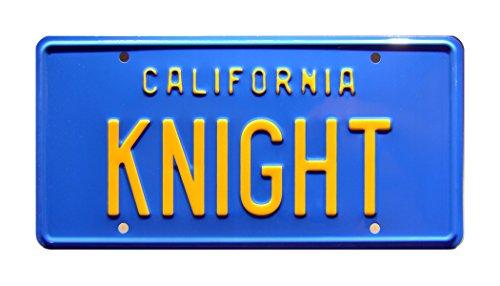 (Celebrity Machines Knight Rider | Knight | Metal Stamped License)