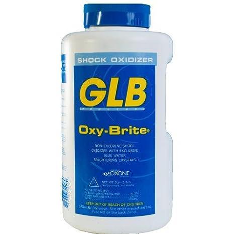 GLB 71418A Oxy-Brite Non-Chlorine Shock Oxidizer, 5-Pound