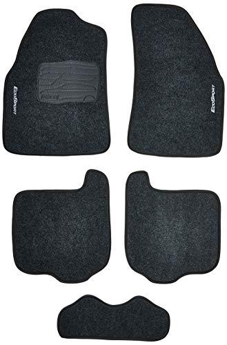 Kit de 5 peças, Tapete Carpete, Flash Acessórios, Ecosport 04/12 Grafite (05 Peças)