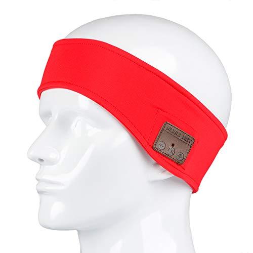 Bluetooth Headset Earphone Headband Sweatband Wireless Music Headphone Stereo Speakers Mic Fitness Exercise Outdoor Sport Earphone