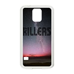 Qxhu The Killers patterns Hardshell Durable Phone Case for SamSung Galaxy S5 I9600