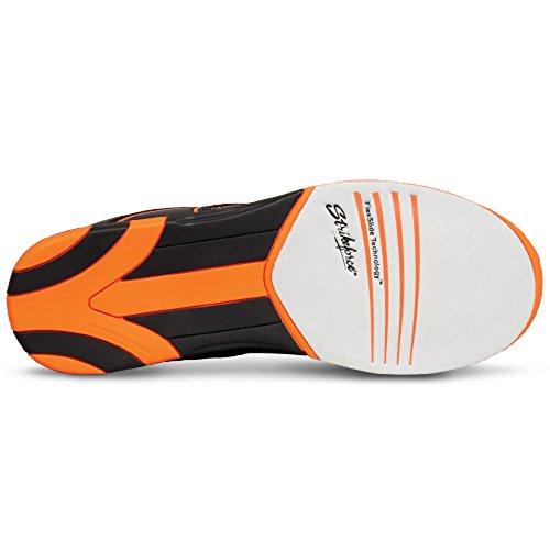 KR Strikeforce Flyer Bowling-Schuhe Damen und Herren, für Rechts- und Linkshänder in 4 Farben Schuhgröße 38-48 wahlweise mit Schuh-Deo Titania Foot Care Orange ohne Spray