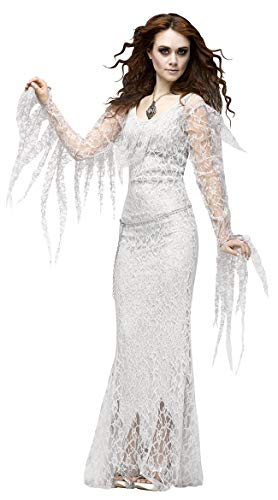 Simmia Halloween Costumes Halloween Vampire Cosplay Ghost Bride Costume Easter Devil, 1241, M]()