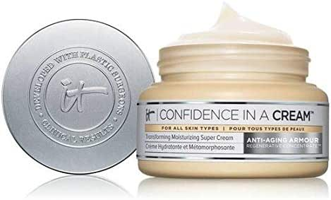 It Cosmetics Confidence in a Cream Moisturizing Super Cream Moisturizer 2 oz