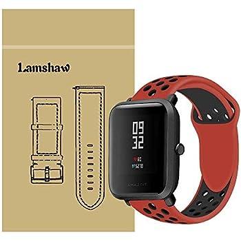 Amazon.com: Correas de repuesto para Xiaomi Amazfit Bip Band ...