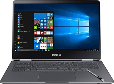 Samsung Notebook 9 Pro NP940X5M-X01US 15' Touch Screen Laptop, 7th Gen Intel Core i7-7500U Up To 3.5GHz, 16GB DDR4, 256GB SSD, Backlit Keyboard, Windows 10, Titan Silver