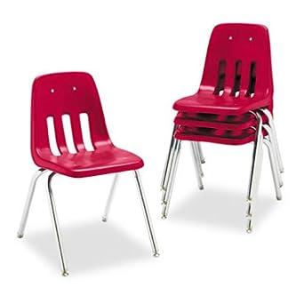 Amazon.com: vir901870 – virco 9000 Series aula silla ...