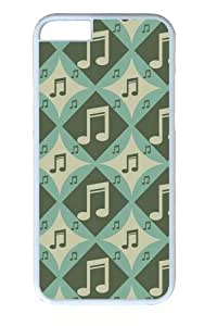 Argyle Music Notes1 Custom iphone 6 plus 5.5 inch Case Cover Polycarbonate White