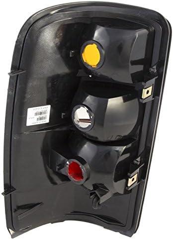 CarPartsDepot Passenger Tail Light Assembly 15113218 GM2801170 04-06 Yukon Suburban Tahoe