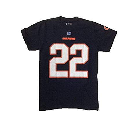 Outerstuff Matt Forte #22 Chicago Bears Adult Navy Name and Number Shirt (Small)