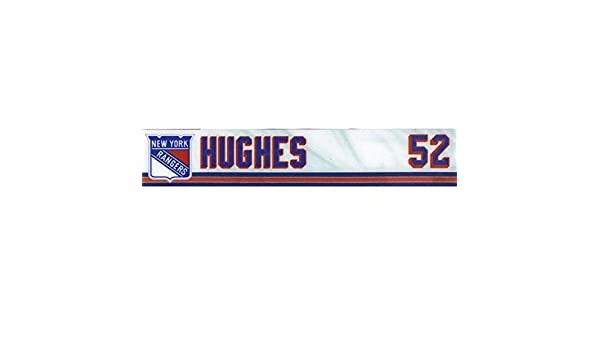 ba8485d370b Tommy Hughes Hartford Wolfpack Game Used Ny Rangers Locker Room Name Plate  Tag - Other Game Used NHL Items at Amazon s Sports Collectibles Store